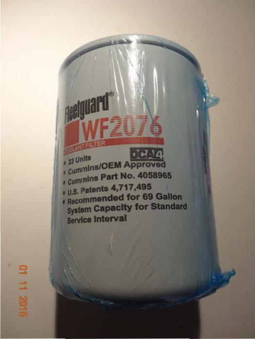 Wf 2076 Water Filter 23 Units Dca